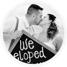 Elopement, Vow renewal beach wedding package