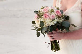 Florida Beach Wedding Bouquet